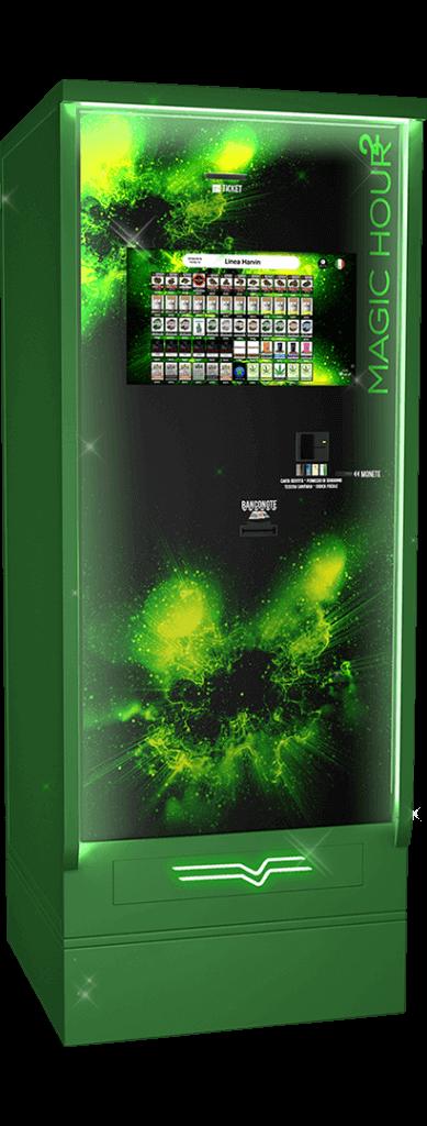 Harvin | Distributori Automatici Cannabis Legale | Magic Hour