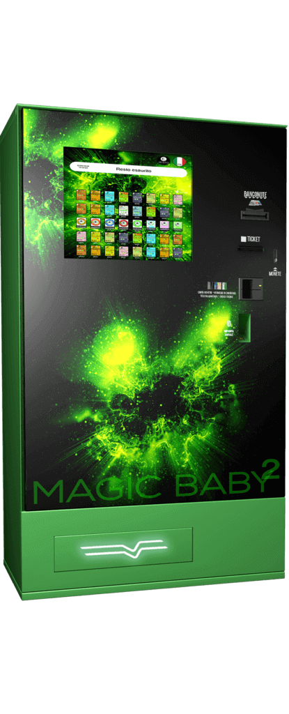 Harvin | Distributori Automatici Cannabis Legale | Magic Baby Touch