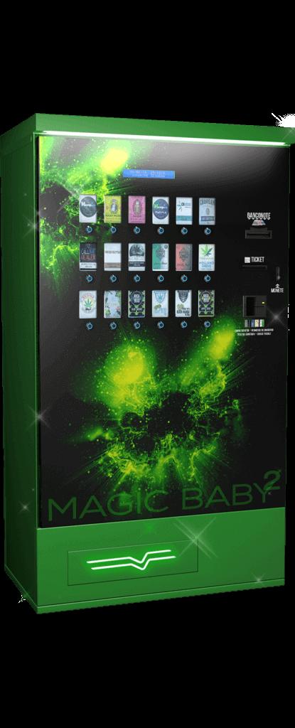 Harvin | Distributori Automatici Cannabis Legale | Magic Baby