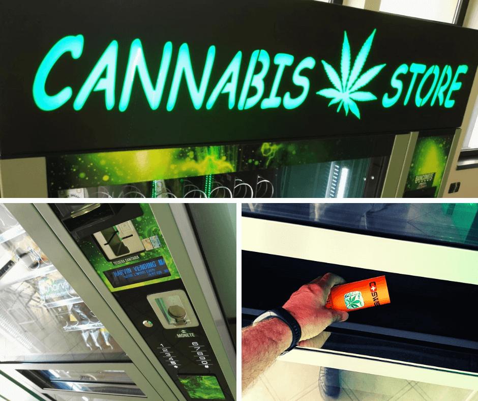 Master Revolution e Master Mix, i nostri Distributori Automatici Refrigerati per Prodotti Alimentari di Cannabis Legale e CBD