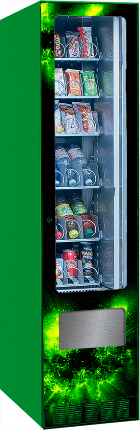 Harvin | Distributori Automatici Cannabis Legale | Master Mix refrigerated cannabis vending machine