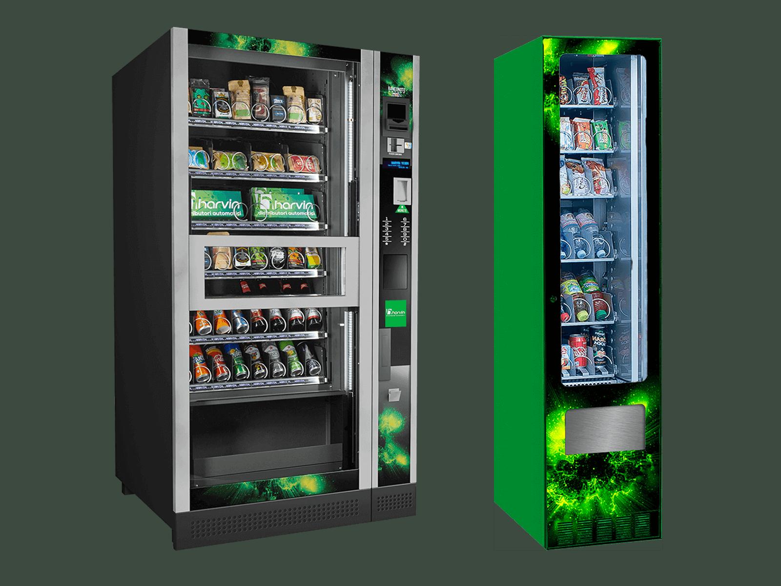 Harvin   Distributori Automatici Cannabis Legale   Blog   Master Revolution Master Mix distributori automatici refrigerati prodotti cannabis CBD