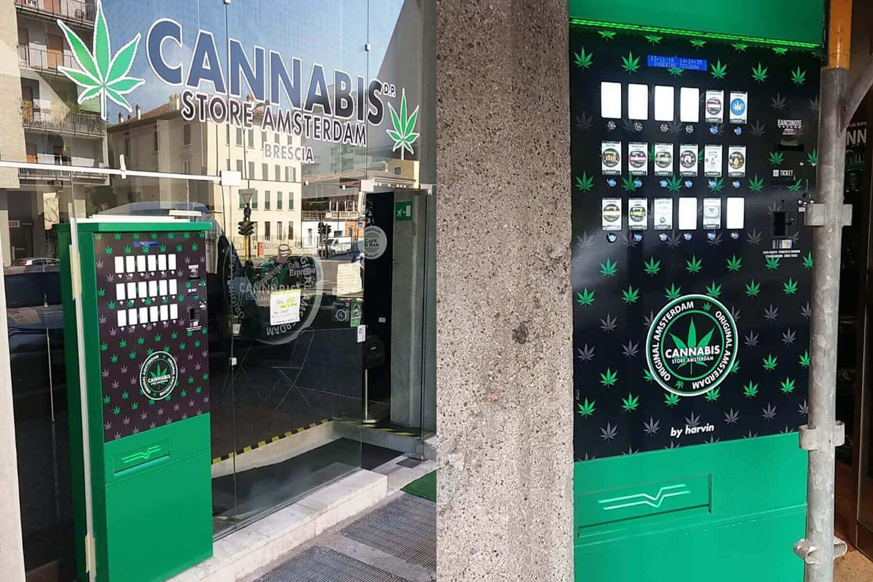 Personalizza il tuo Distributore Automatico di Cannabis con il tuo Logo e la tua Identità di Marca