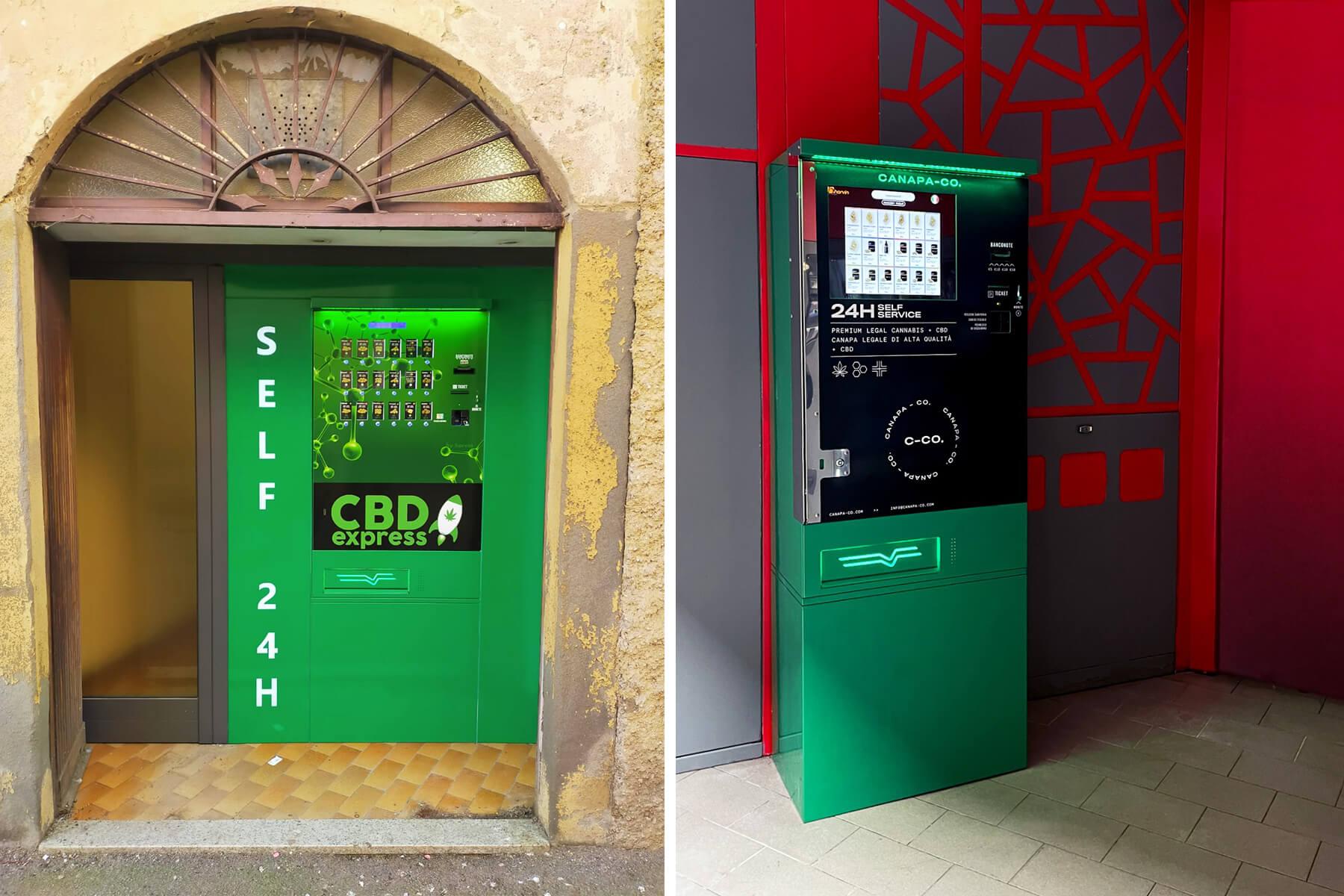 I luoghi più adatti dove installare un distributore automatico di Canapa Light