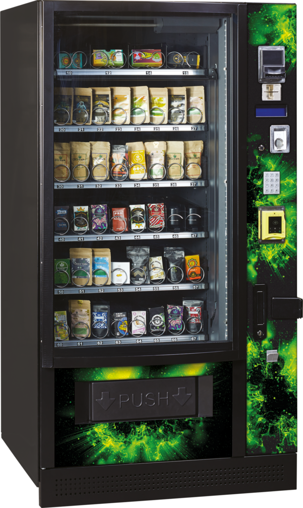 distributore cannabis refrigerato