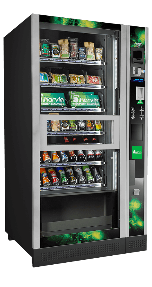 refrigerated hemp vending machine