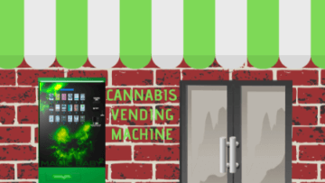 What should I do if I place the Legal Cannabis Vending Machine in other businesses?