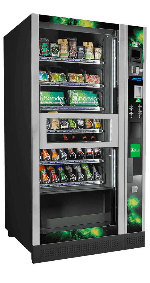 cannabis and snacks vending machine