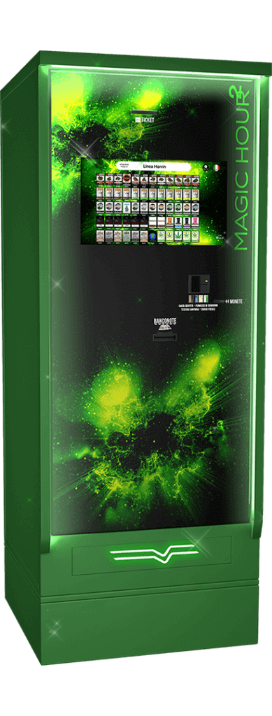 Harvin | Cannabis Vending Machine | Magic Hour