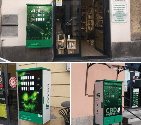 place a cannabis vending machine