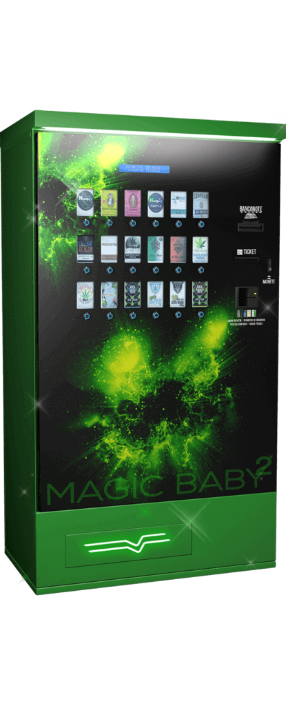 Harvin | Cannabis Vending Machine | Magic Baby