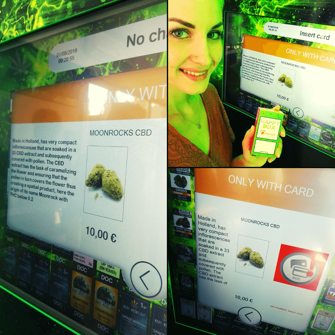 Our top selling cannabis vending machines gives a full product description