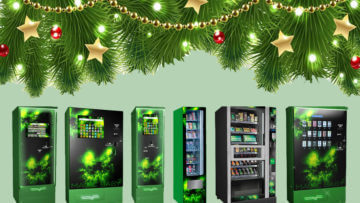 The best time of the year to upgrade your shop with a cannabis vending machine? Christmas, of course!