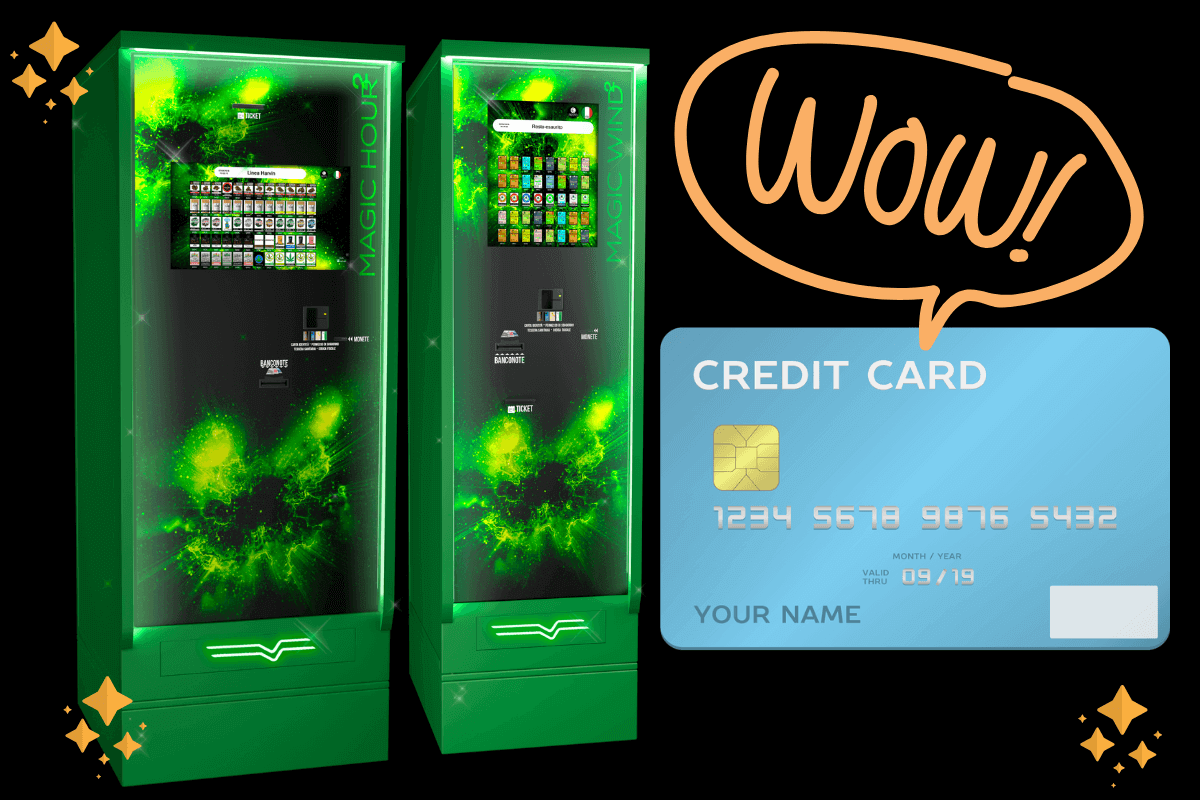 The powerful card readers of our legal weed vending machines