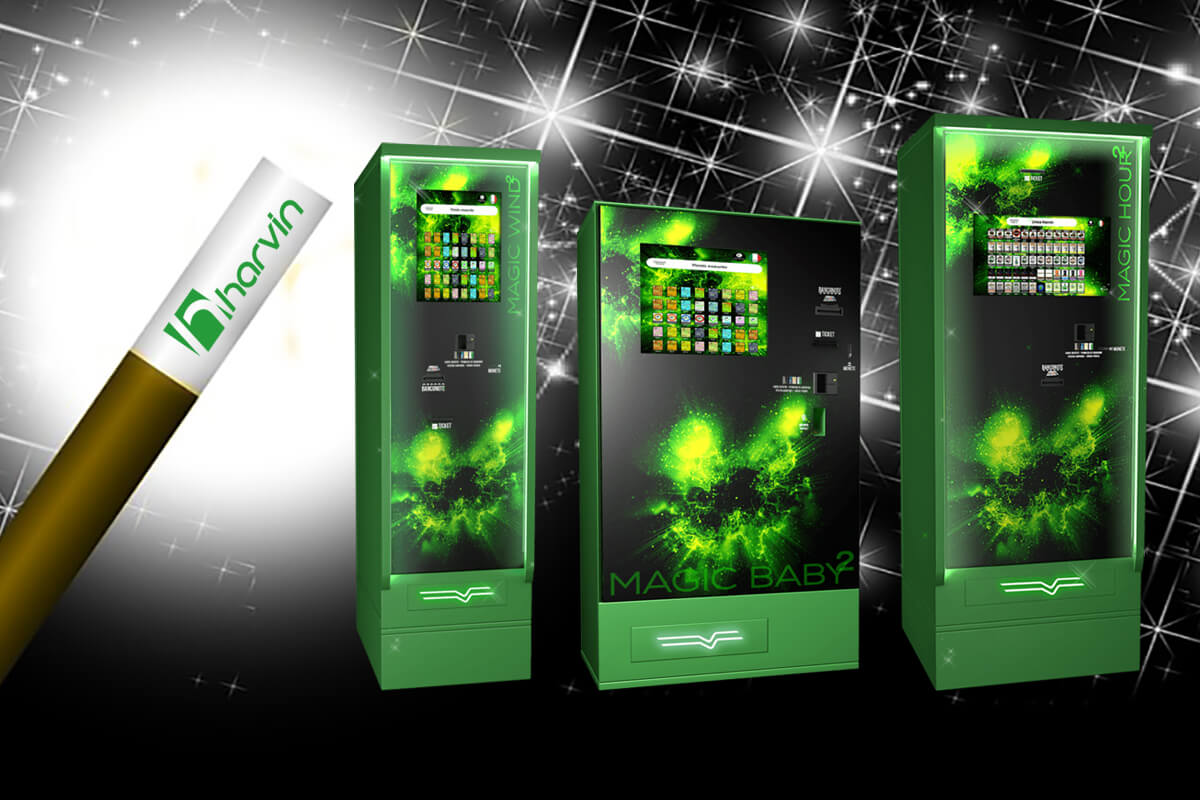 Cannabis Vending Machines with a Touch of Magic: Magic Baby Touch, Magic Wind Touch, Magic Wind Touch