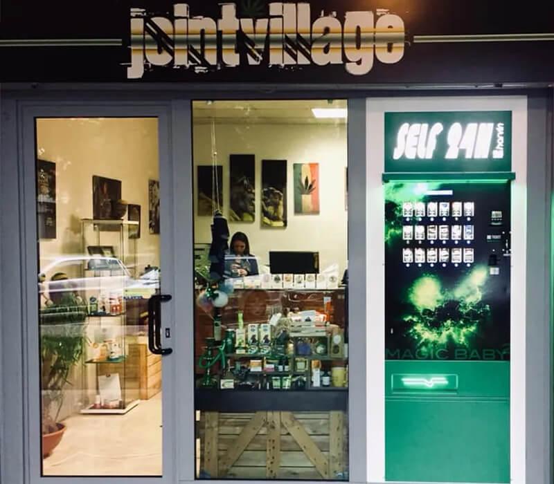 cannabis vending machines