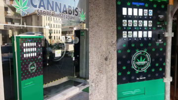 Customize your Cannabis Vending Machine with your Logo and Brand Identity