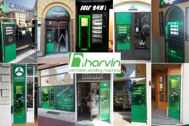 Distributeurs automatiques de CBD Harvin: pourquoi devriez-vous les choisir?
