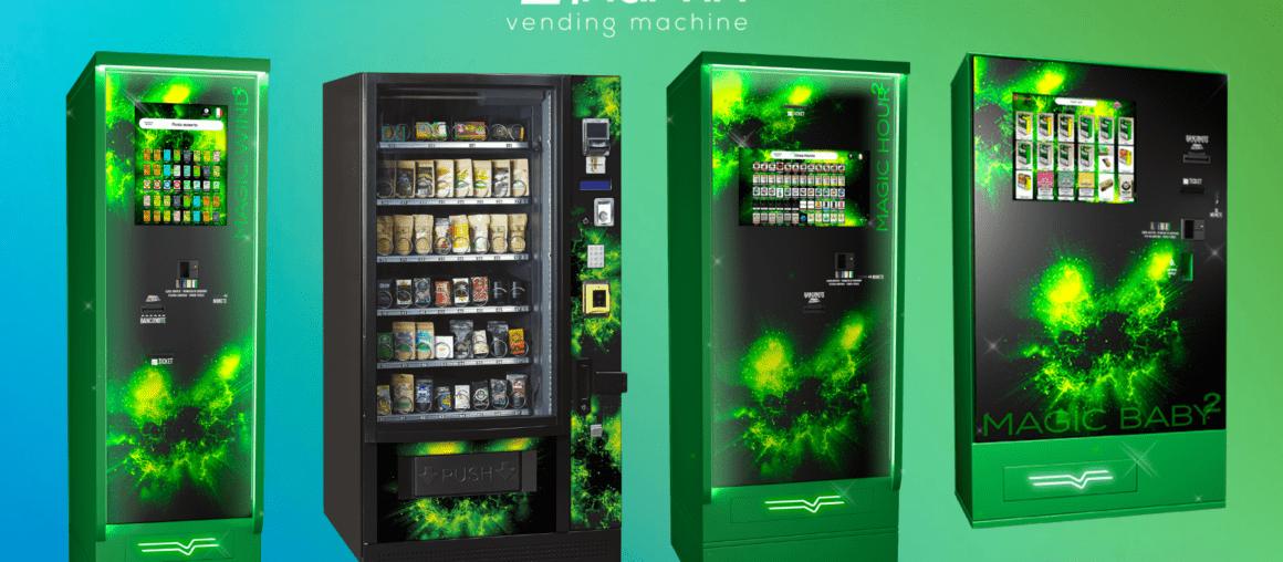 Máquinas expendedoras de cannabis Harvin: ¿por qué elegirlas?