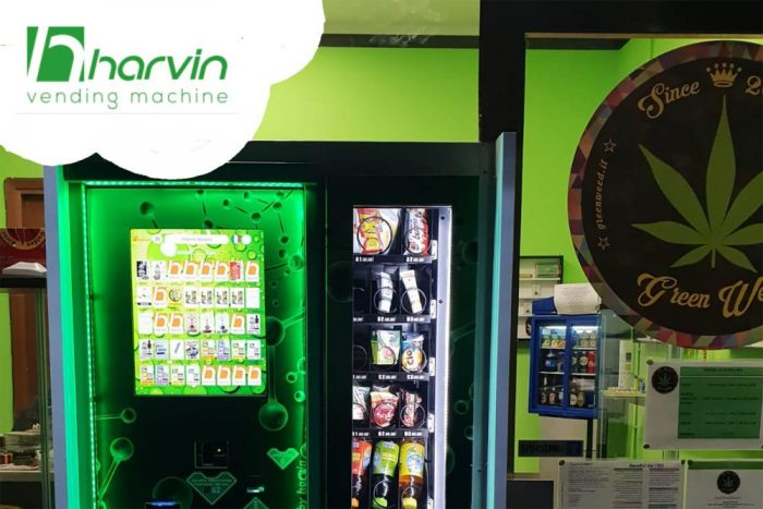 Sell cold hemp and CBD food and drinks with your weed vending machine