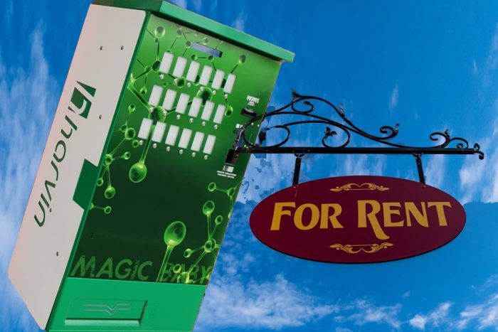 Renting or Leasing a Weed Vending Machine: all of the benefits and none of the worries